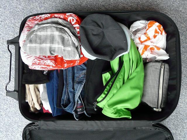 Tasche richtig packen